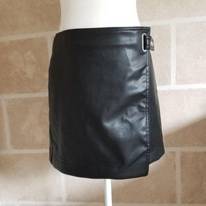 Divided by H&M Women's Faux Leather Mini Skirt